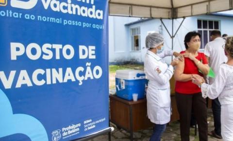 Belém ganha mais dois postos de vacinação contra covid-19