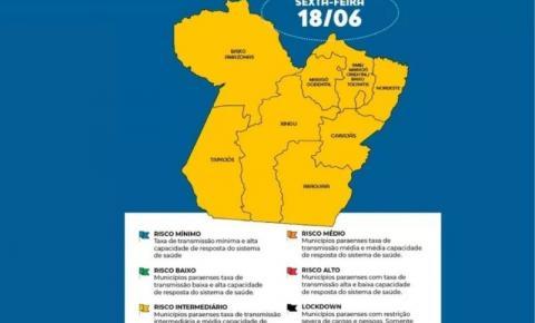 Região de Tucuruí avança para o bandeiramento amarelo