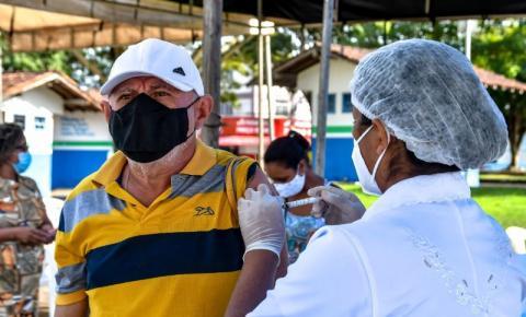 Santa Izabel realiza última chamada para vacinação de pessoas de 40 a 59 anos