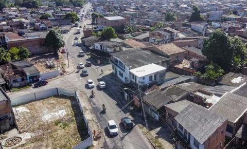 Obras na Avenida Bruno Sechi interditam trechos no Benguí, em Belém