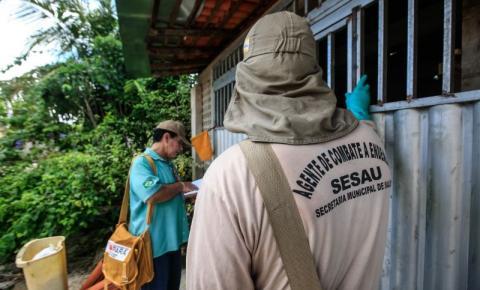 Pará registra aumento no número de casos de dengue