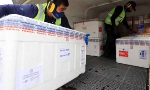 Pará recebe mais doses de vacinas contra a covid-19