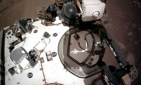 Perseverance perfura solo de Marte em busca de amostras