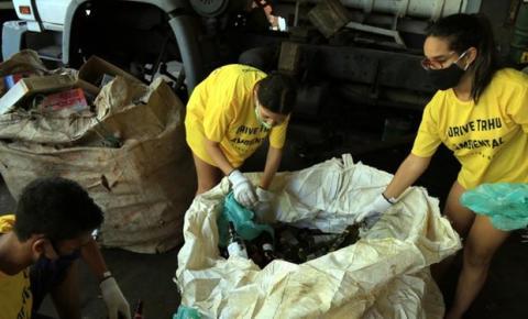 Ação de coleta de recicláveis ocorre na próxima semana, em Belém