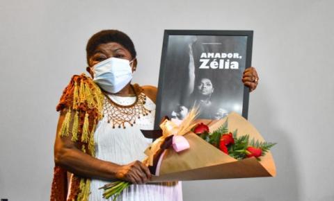Zélia Amador é homenageada com curta-metragem biográfico