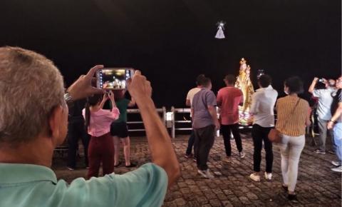 Veja o vídeo da ação 'Maria no Céu de Belém', uma homenagem inédita à Nossa senhora