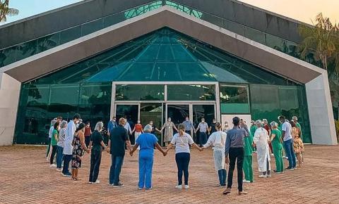 Cerimônia de desativação do Hospital de Campanha ocorre hoje (16), em memória das vítimas da covid-19