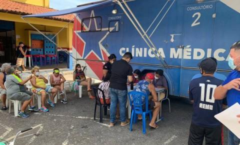 Salinópolis recebe ação de saúde e cidadania pelo seu aniversário