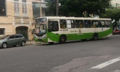 Ônibus quebrado na Serzedelo