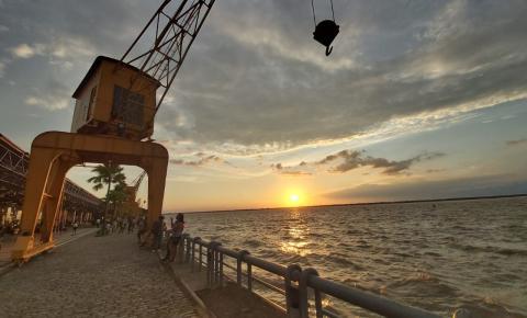 Pôr-do-sol na Estação das Docas e lançamento do Belém!