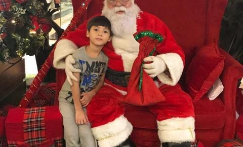 Shopping de Belém recebe o Papai Noel neste sábado (9)