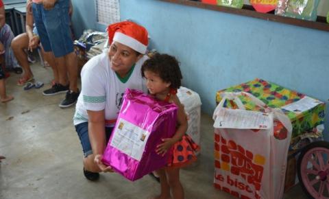 Ações objetivam tornar o Natal de crianças necessitadas mais feliz