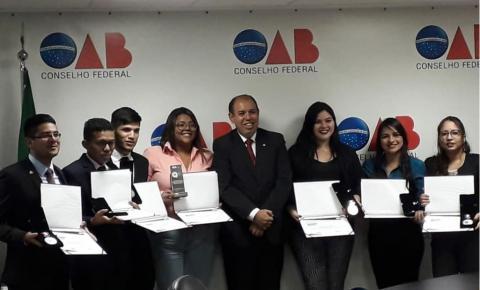 Alunos da UFPA vencem concurso nacional de júri simulado da OAB